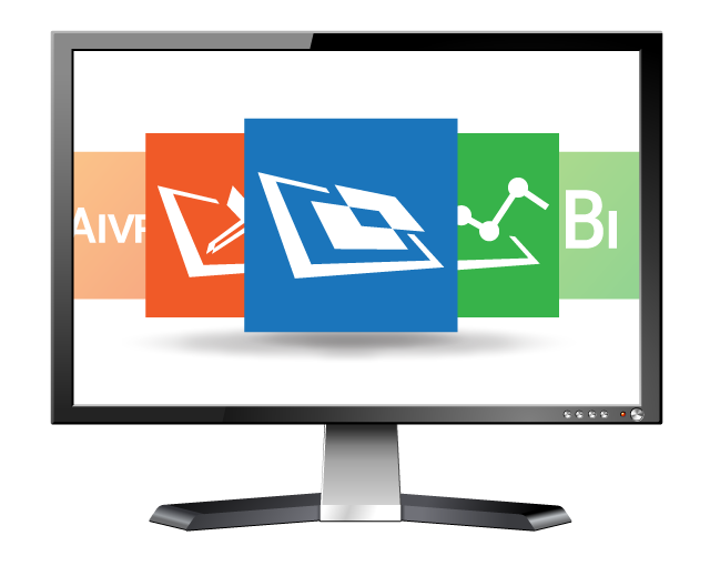 LCD Monitor with Aware software packages